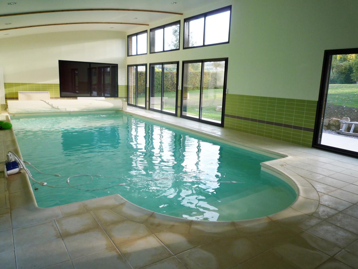 piscine intérieure en Normandie