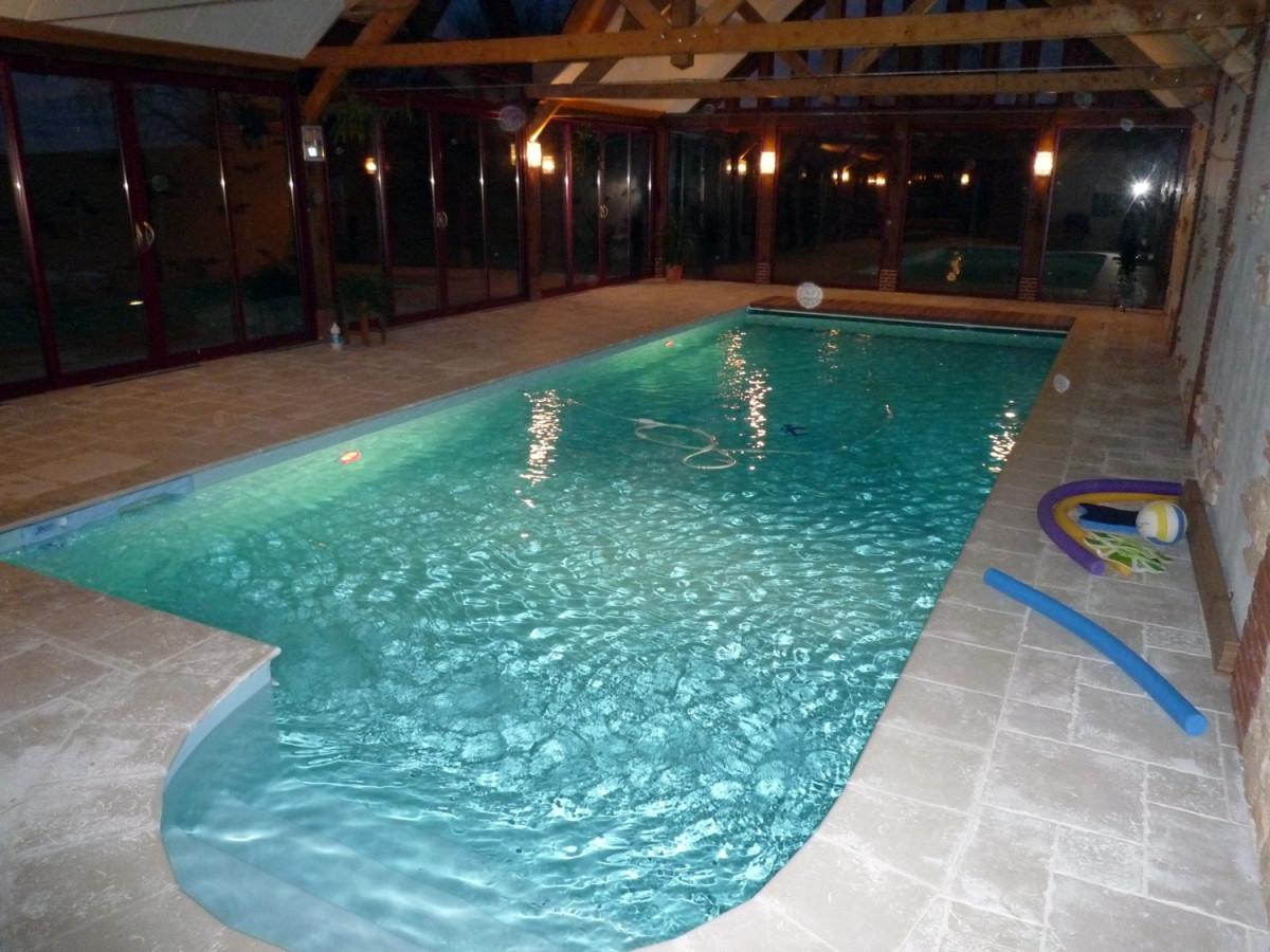 piscine intérieure à Rouen