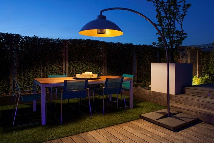 Chauffage outdoor Heatsail par Jardins Passions
