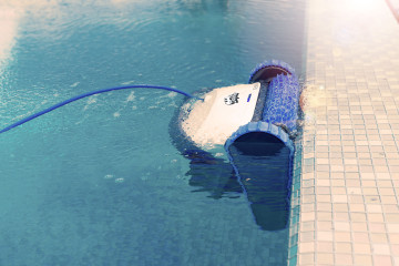 réparation et entretien de robots de piscine à Rouen